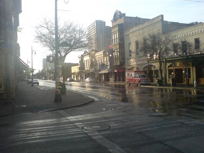 6th Street in Austin
