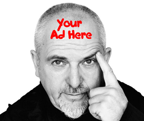 Peter Gabriel: Your Ad Here