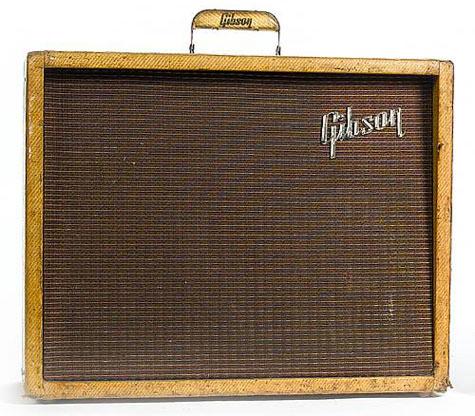 Alexis Korner's Gibson Explorer amp