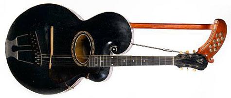 Alexis Korner's Gibson Harp Guitar
