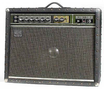 Alexis Korner's Roland JC-60 amp