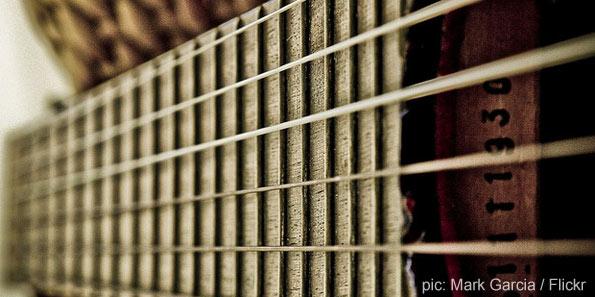 Guitar Stings by Mark Garcia