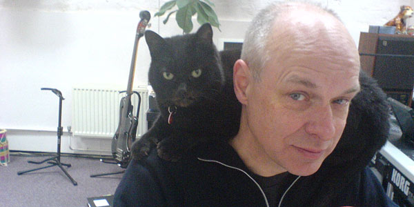 Brian Eno & friend