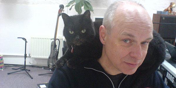 Brian Eno & friend