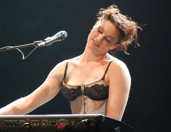 Amanda Palmer: pic by Burnsi on Flickr