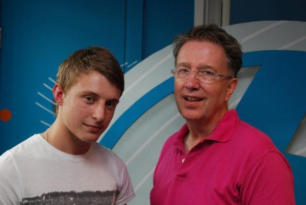 Jacob Plant with Tom Robinson
