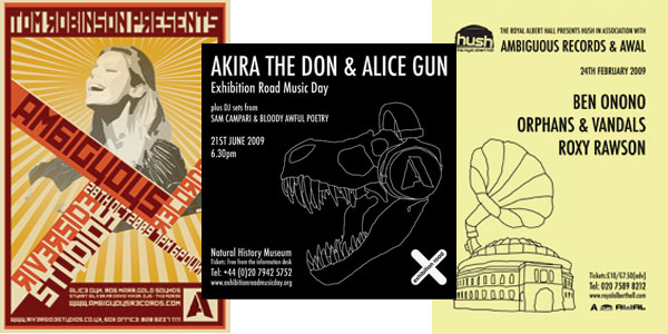 Ambiguous Records Posters