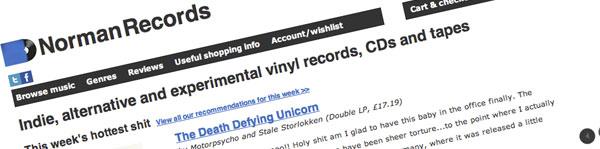 Norman Records Emporium