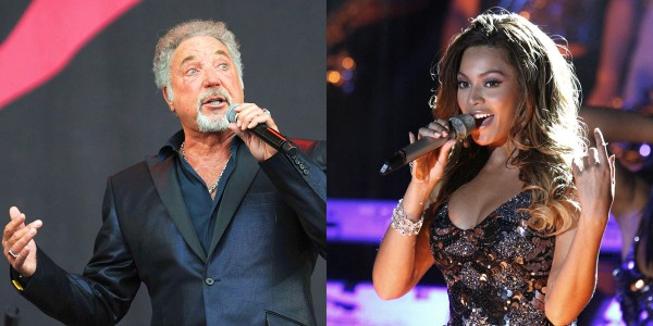 Tom Jones and Beyonce Knowles
