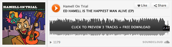 Ed Hamell Is The Happiest Man Alive
