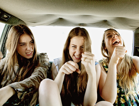 Los Angeles band Haim