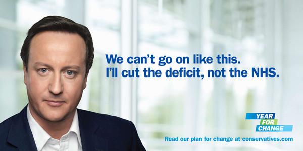 David Cameron: I'll cut the deficit, not the NHS