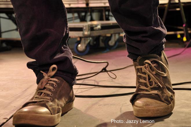 David Littlefair's sneakers