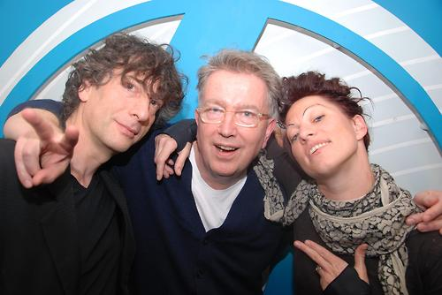 Neil Gaiman, Tom Robinson and Amanda Palmer