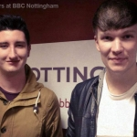 April Towers at BBC Nottingham
