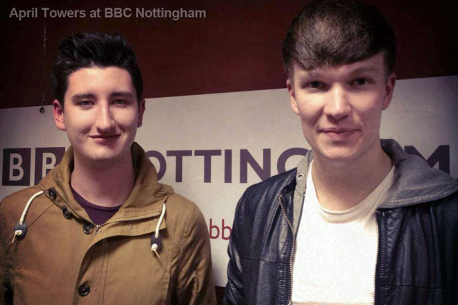 April Towers at BBC Nottingham