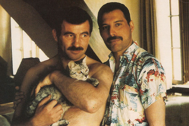 Jim Hutton & Freddie Mercury