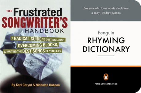 The Frustrated Songwriter's Handbook and the Penguin Rhyming Dictionary