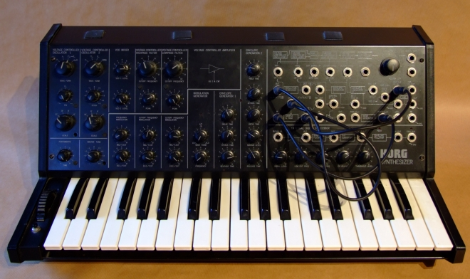 """I can find my way around a synthesizer"" - Korg MS-20"