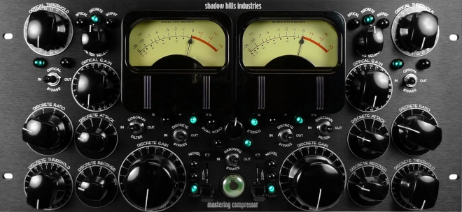 Shadow Hills mastering compressor - click to zoom image in new window