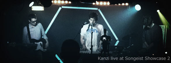 Kanzi live at Songeist Showcase 2