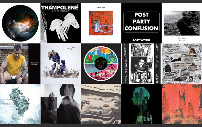 Album covers for Fresh List #3