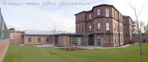 St George's Hospital, Stafford - Ellesmere House