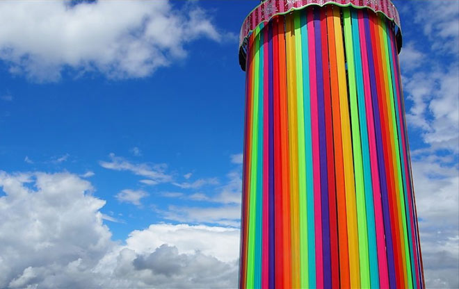 Glastonbury Rainbow Tower