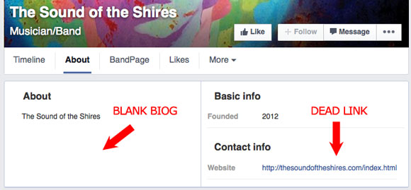 The Sound Of The Shires - Facebook profile