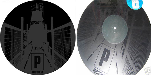 Portishead Etched Vinyl