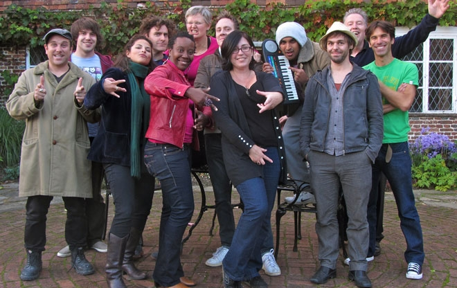 Immersion Songwriting Weekend: October 2012