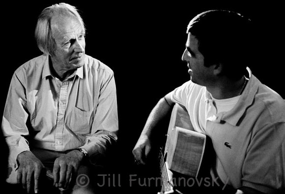 george Martin & Noel Gallagher from The Moment exhibition