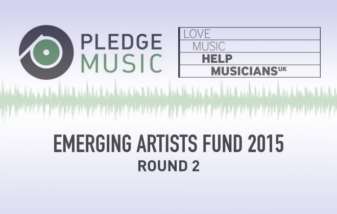 Pledge Music emerging artists fund