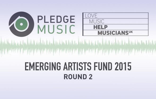 Pledge Music emerging artists fund