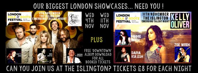 Folkstock London showcases banner