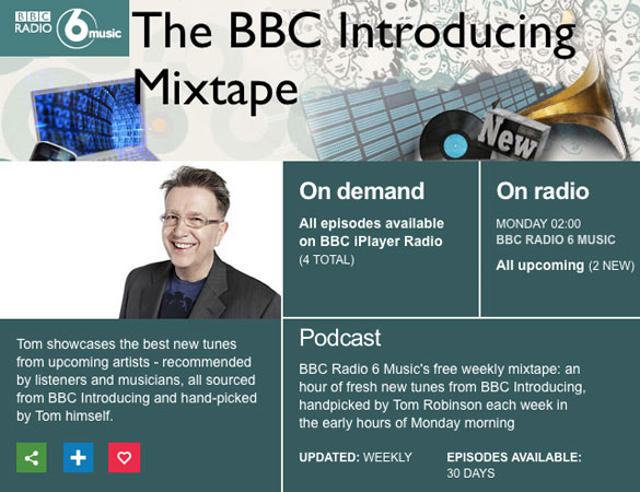 BBC Introducing Mixtape