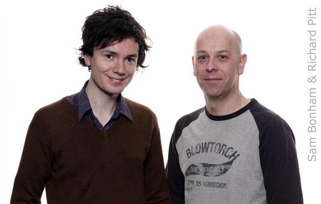 Sam Bonham and Richard Pitt