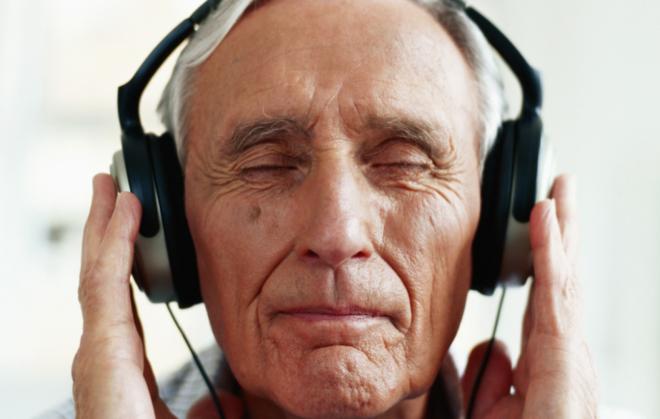 Old Man Headphones