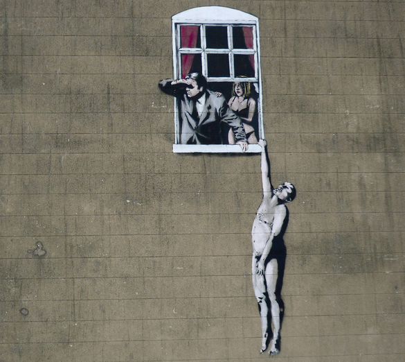 Banksy: Well-Hung Lover