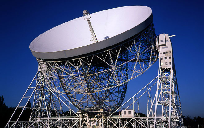 Lovell Telescope listening