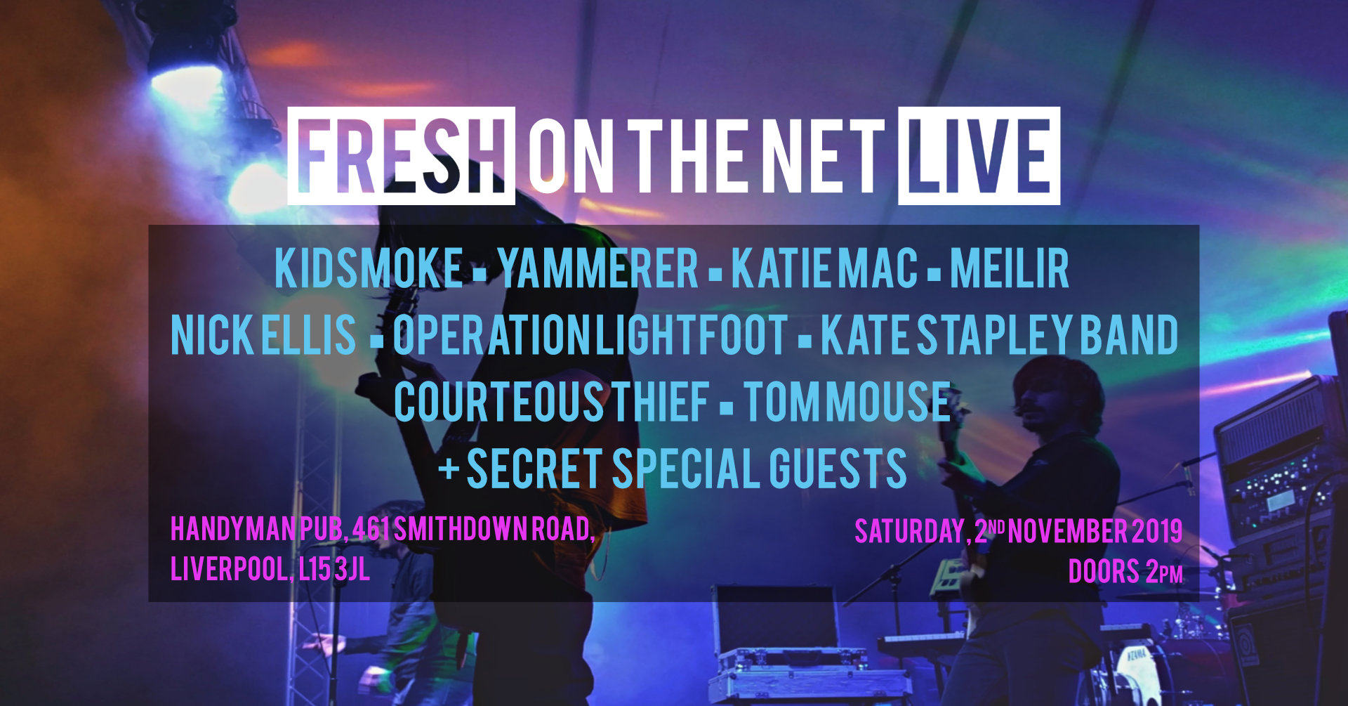 Fresh On The Net Live Liverpool