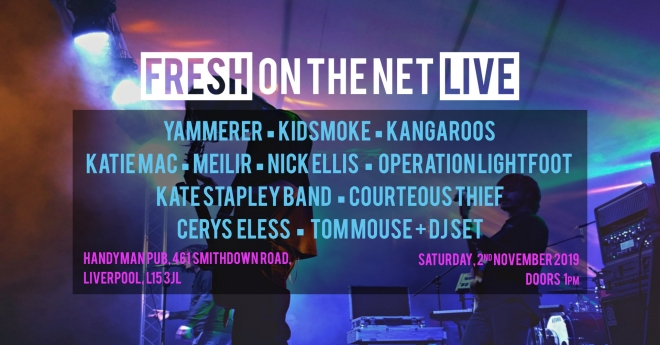 Fresh On The Net Live in Liverpool