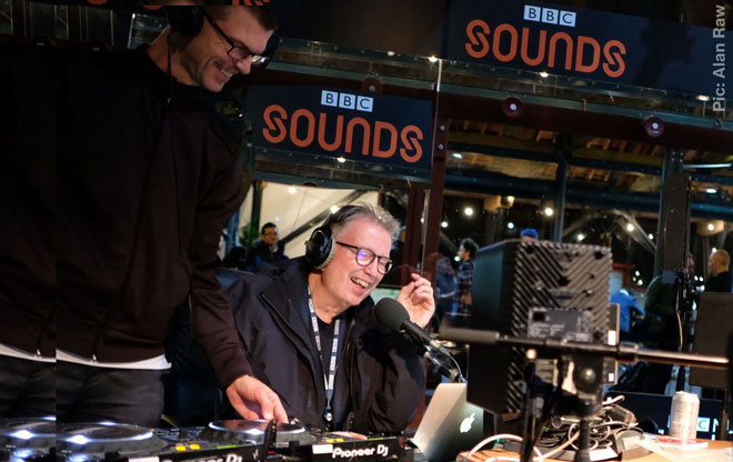 Tom Robinson at BBC Introducing Live