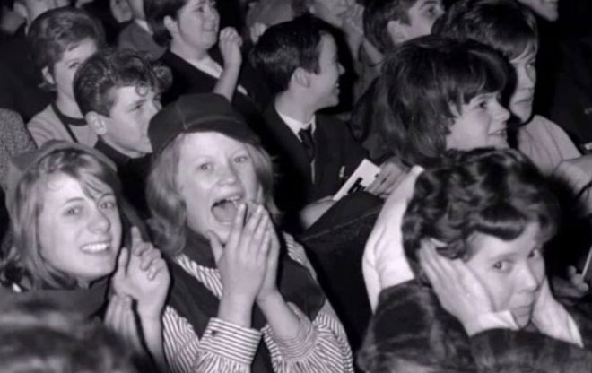 Beatles Fans, Cambridge 26 November 1963