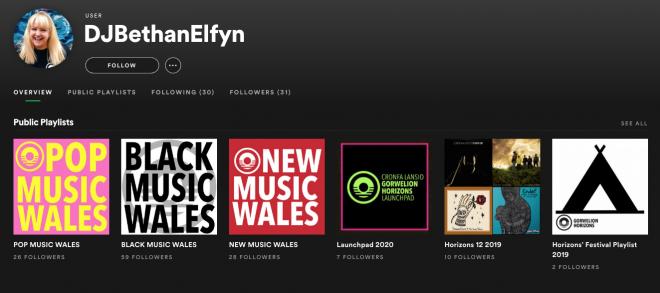 Bethan Elfyn on Spotify