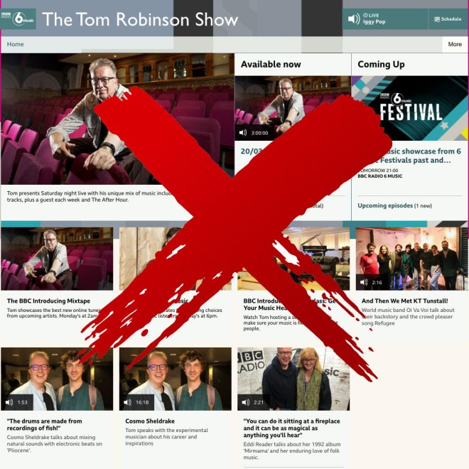 End Of The Tom Robinson Show